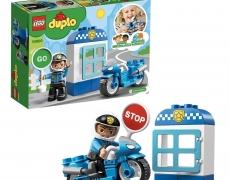 LEGO Duplo - Polizeimotorrad mit Polizist
