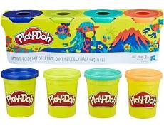 Play-Doh 4er-Pack / unterschiedliche Farbsortierung