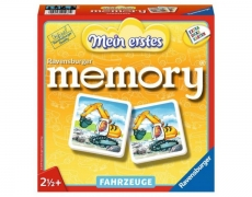 Mein erstes Memory - Fahrzeuge      2 1/2+