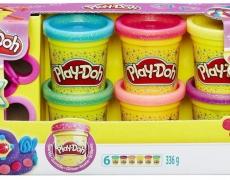 Play-Doh 6er-Pack, Glitter
