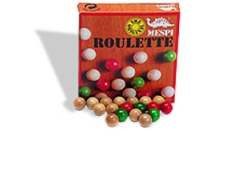 Kugelset für Roulette Spiele