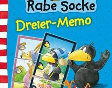 Amigo - Der kleine Rabe Socke - Dreier Memo      4+