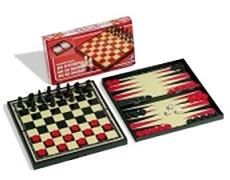 Schach, Dame, Backgammon